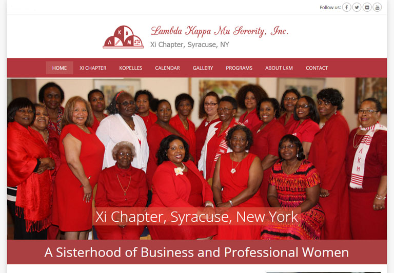 Lambda Kappa Mu, XI Chapter